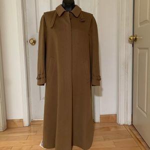 Burberry Women's Wool Coat size 10 / 12